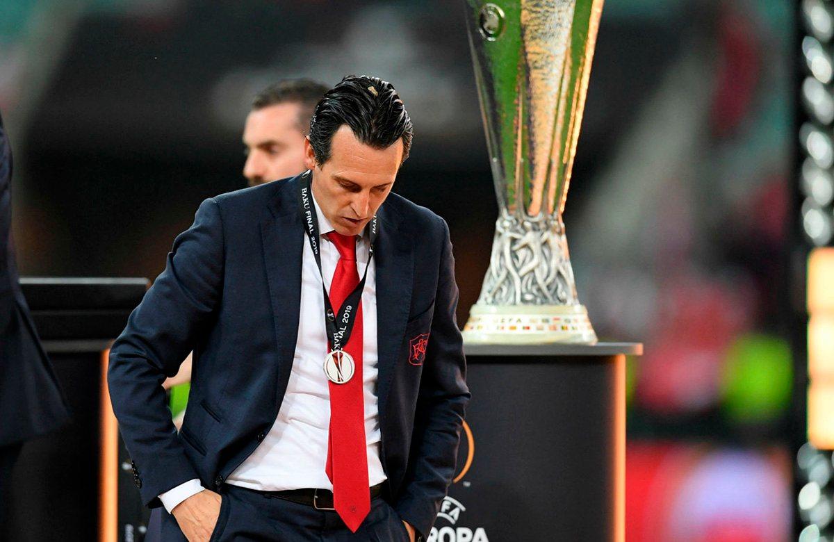 Унаи Эмери не смог выиграть Лигу Европы в четвертый раз