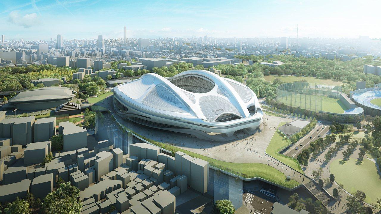Национальный стадион, Токио