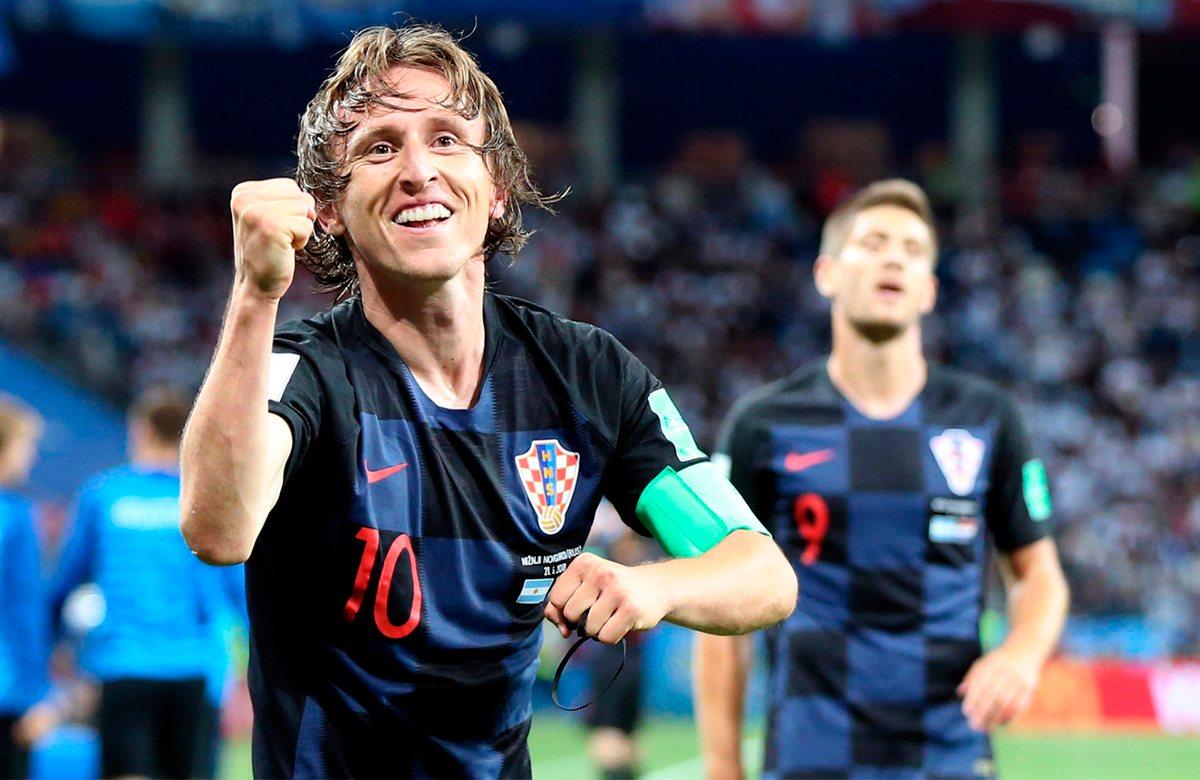 Модрич семь раз становился лучшим игроком Хорватии