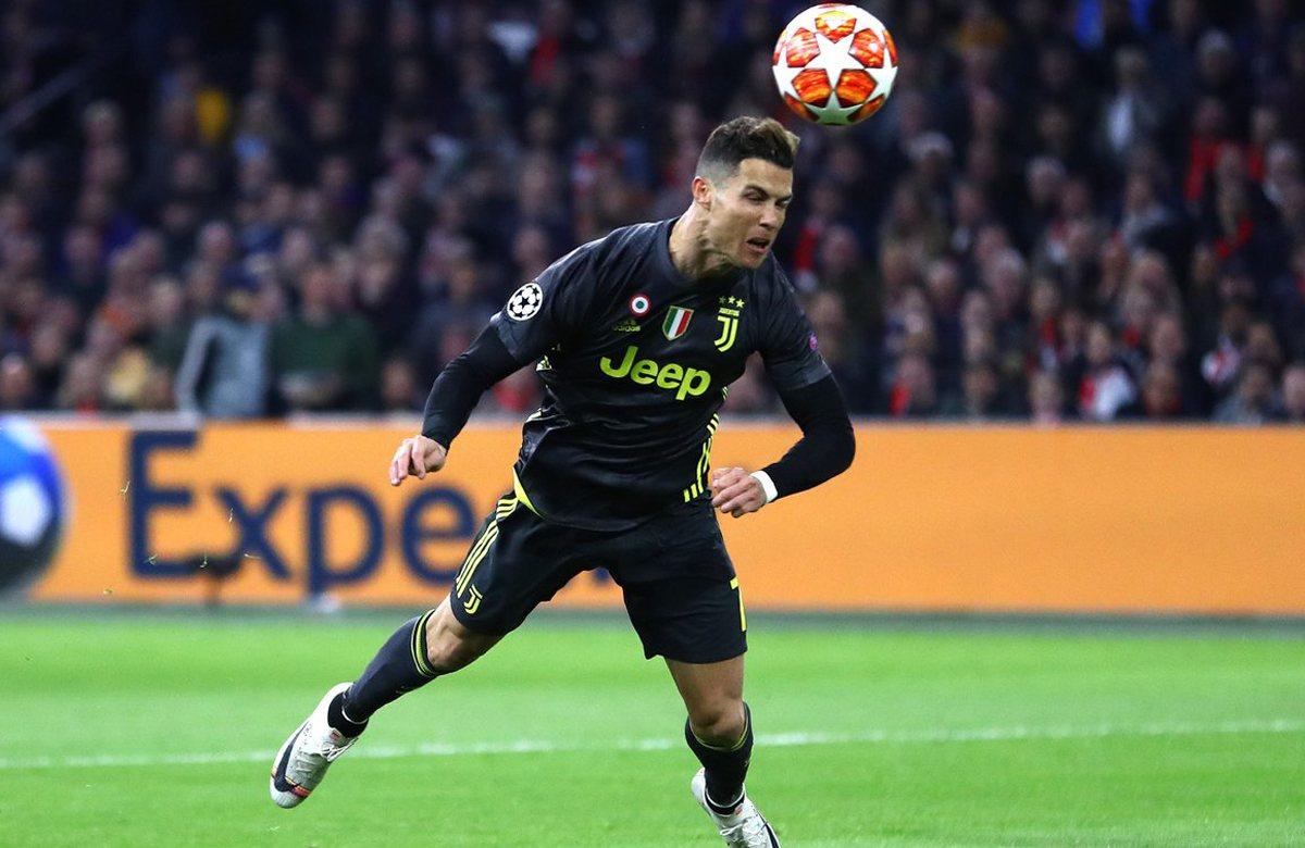 125-й гол Роналду в Лиге чемпионов