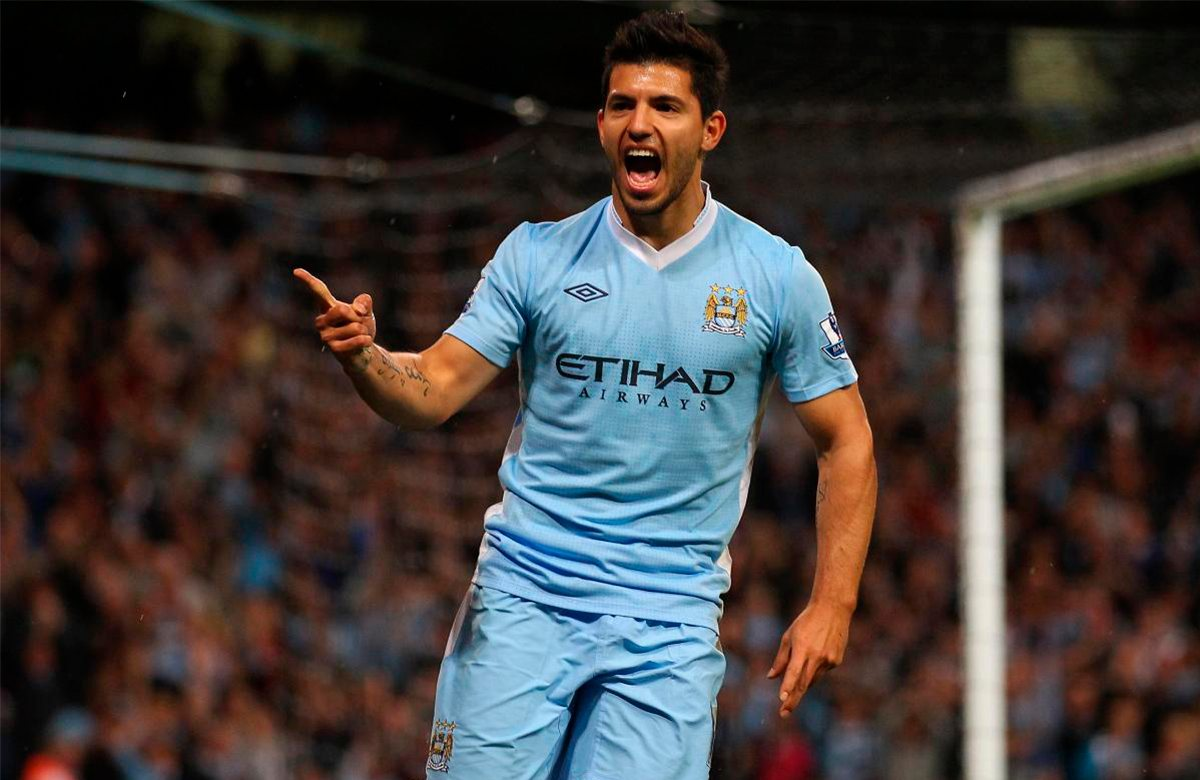 8 лет назад Агуэро дебютировал в Манчестер Сити