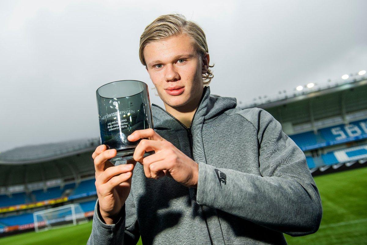 Эрлинг Браут Халанд – главная надежда норвежского футбола