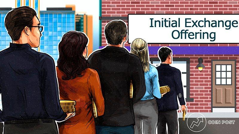Покупка токенов на Initial Exchange Offering
