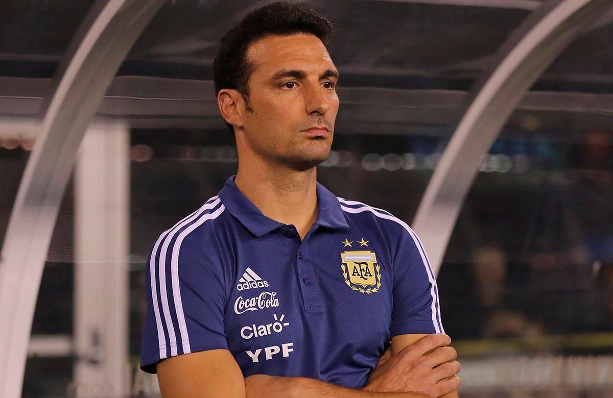 Лионель Скалони, сборная Аргентины