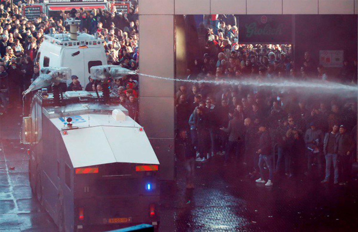 Фанаты Ювентуса в Амстердамме