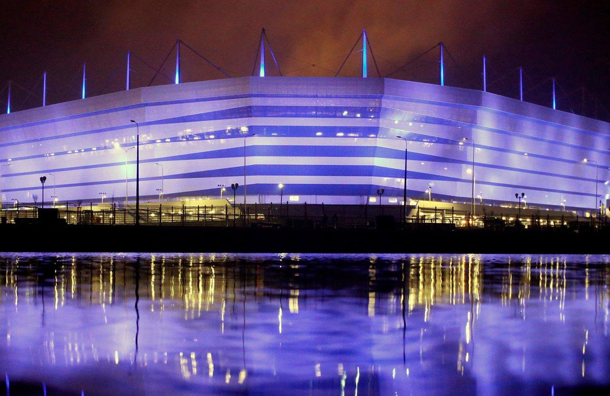Стадион Калининград примет матч Россия - Казахстан