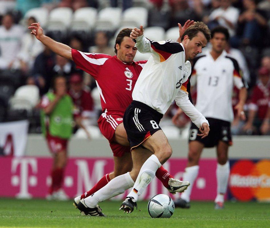 Германия против Латвии, Евро-2004
