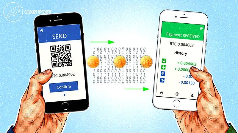 Отправка транзакции из криптокошелька