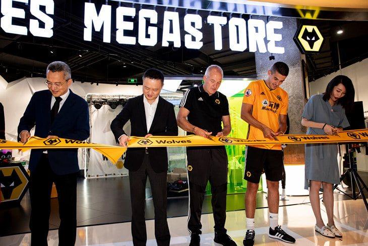 Вулверхэмптон открыл фан-шоп в Шанхае