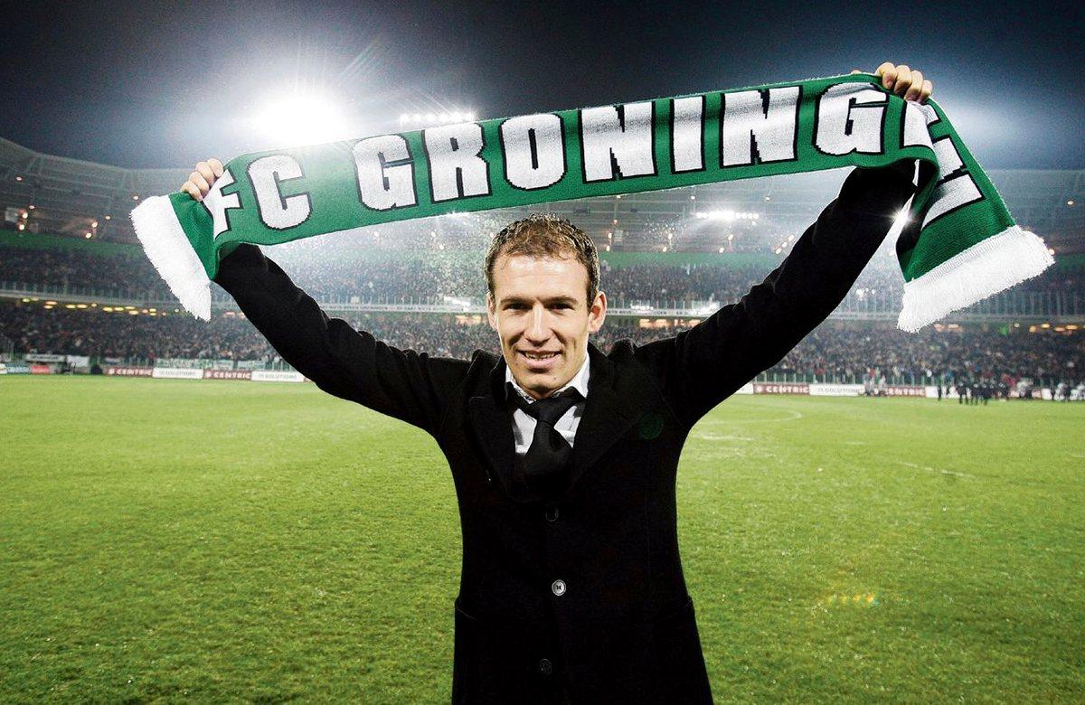 Гронинген помнит, что у Арьена Роббена были волосы