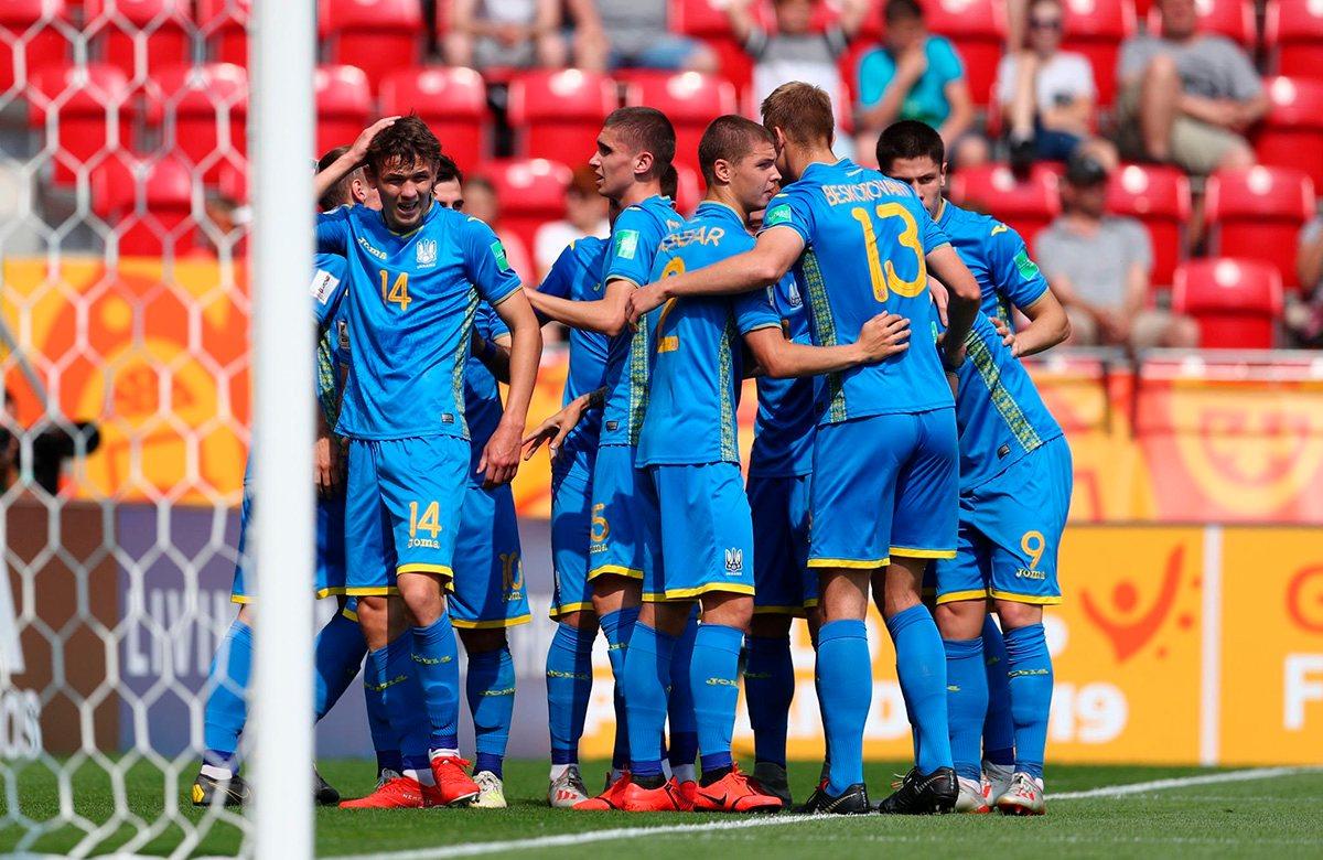 Украина победила Колумбию 1:0