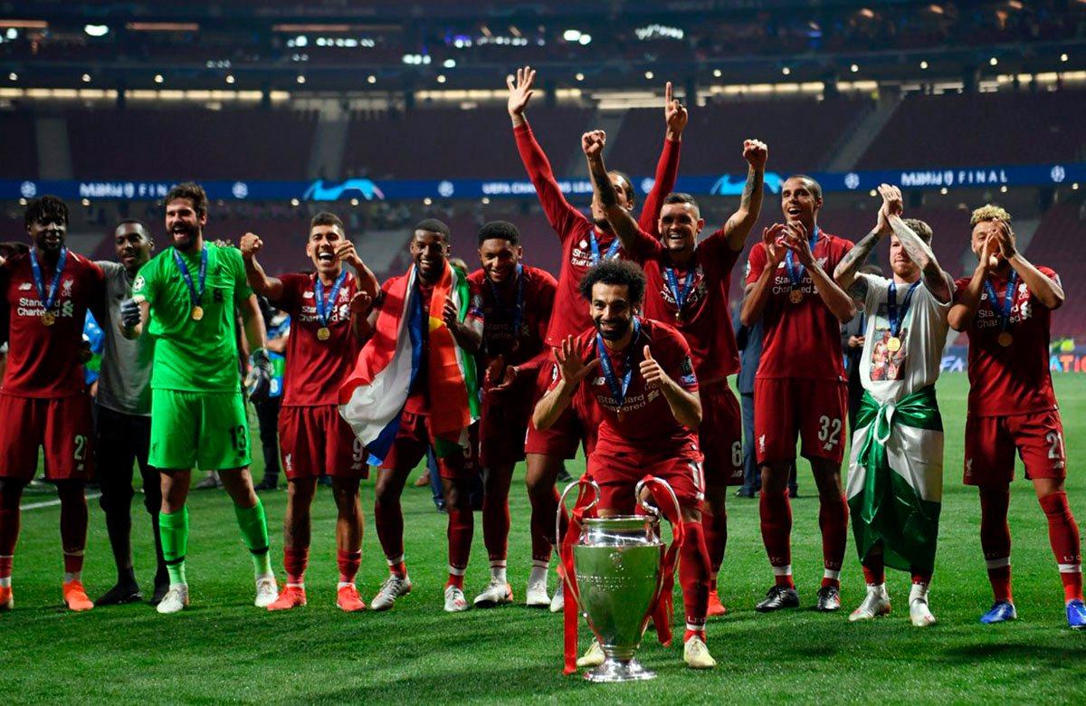 Ливерпуль шестой раз в истории выиграл Лигу чемпионов!