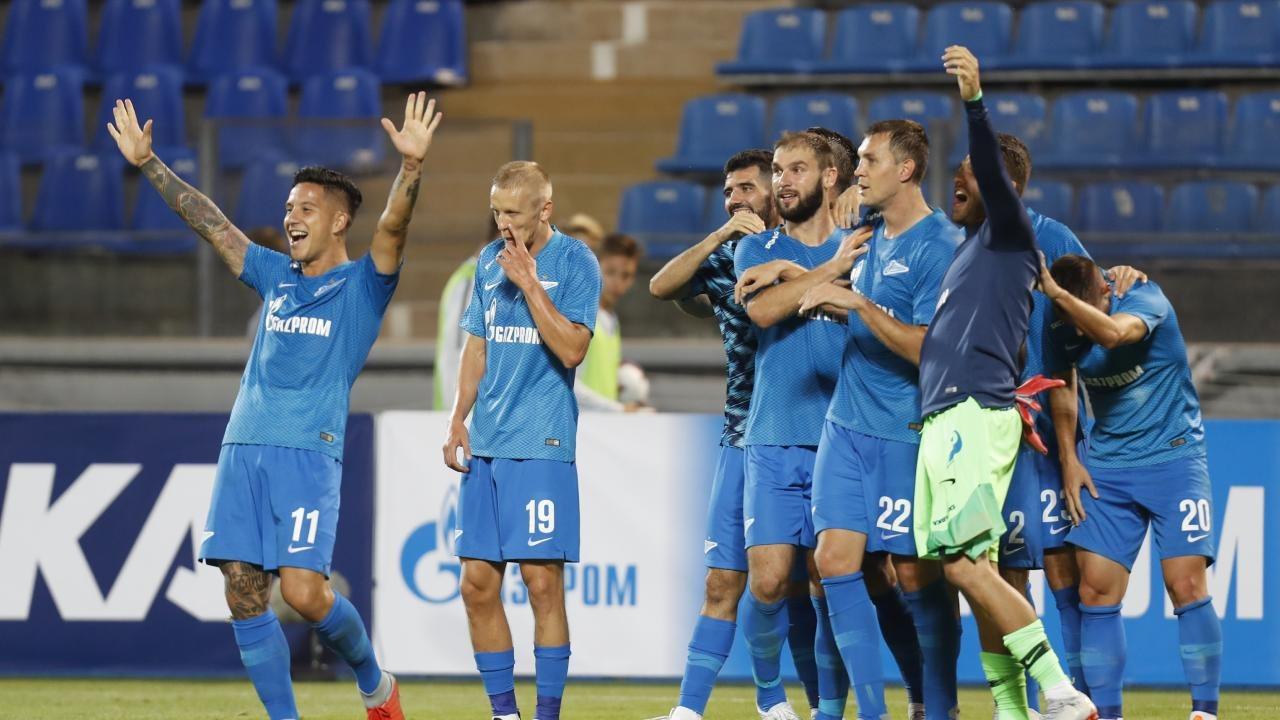 Победа над минским Динамо далась Зениту с большим трудом
