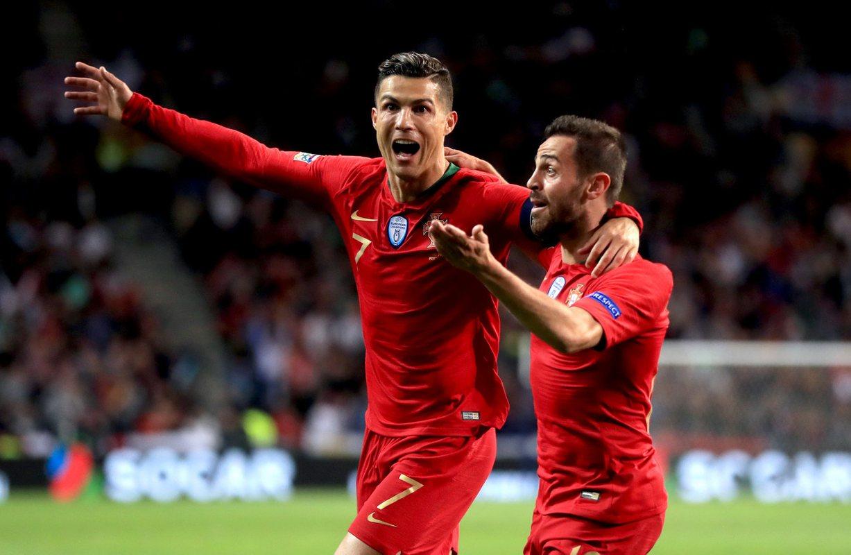 Роналду уничтожил Швейцарию
