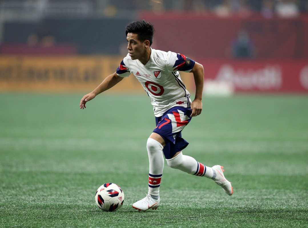 Эсекьель Барко играл за сборную MLS