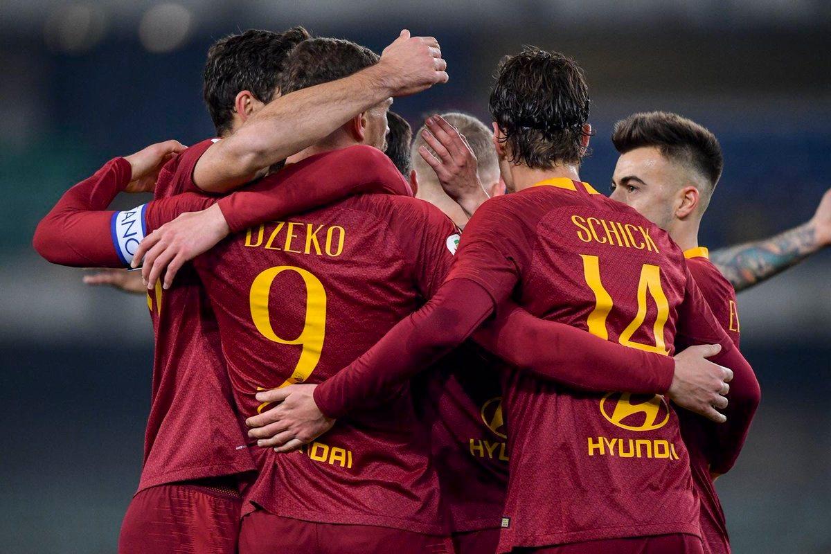 Рома продолжает выступление в Лиге чемпионов