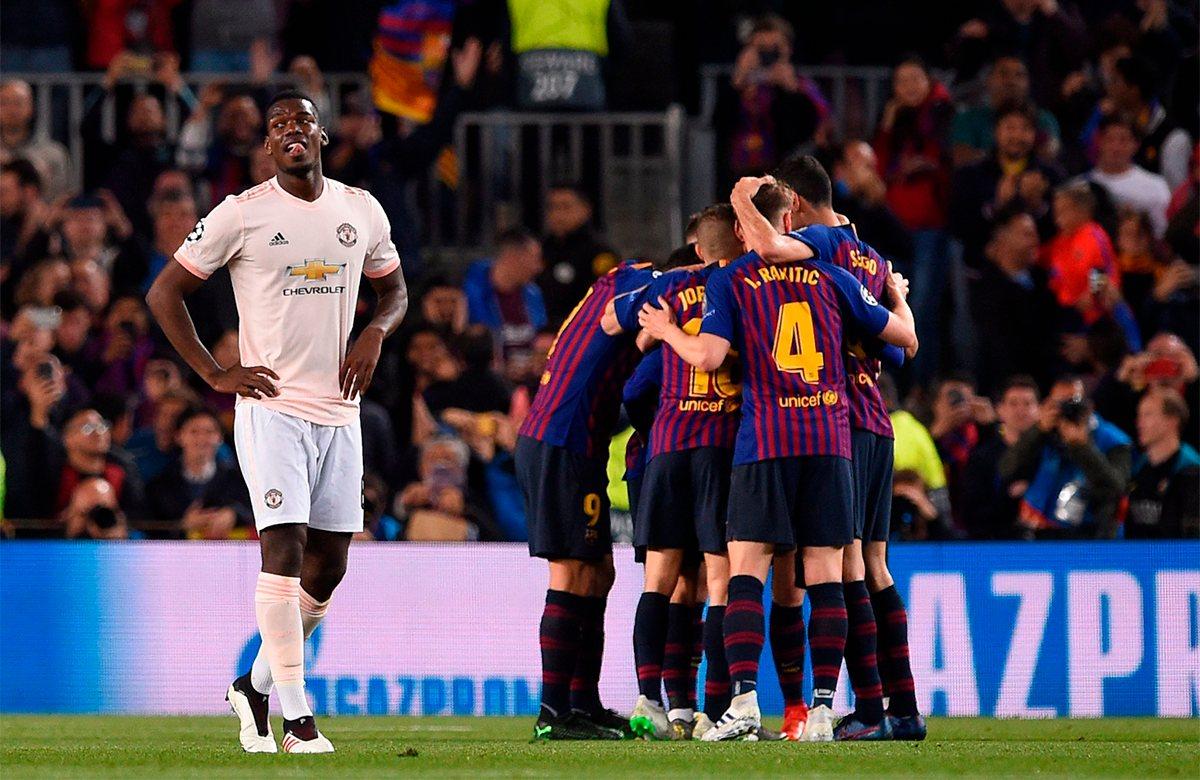 Барселона - Манчестер Юнайтед, 3:0