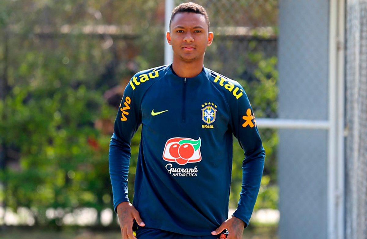 Луан Кандидо, сборная Бразилии U-20