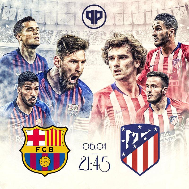 Барселона - Атлетико, чемпионат Испании
