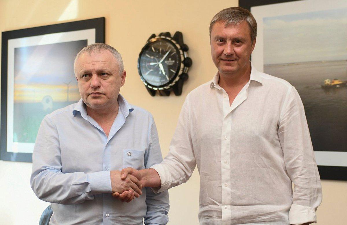 Александр Хацкевич еще на два года в Динамо Киев