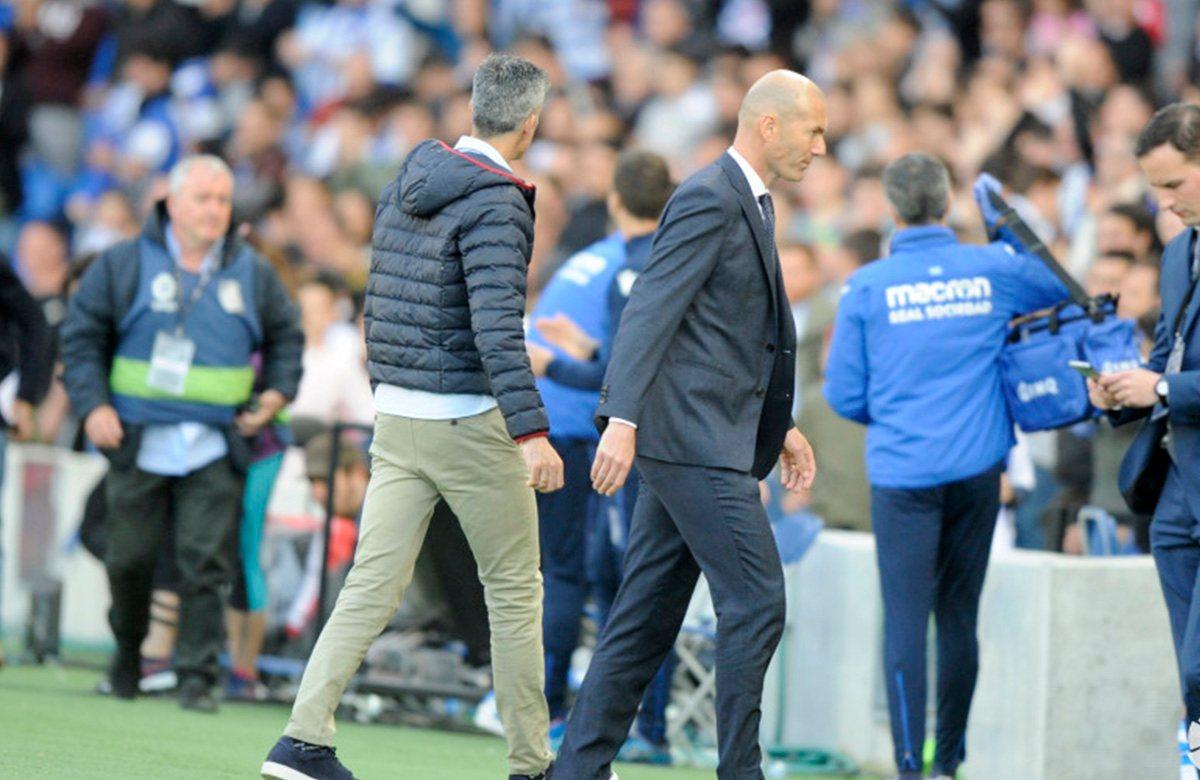 Зинедин Зидан пока не улучшил результаты Реала