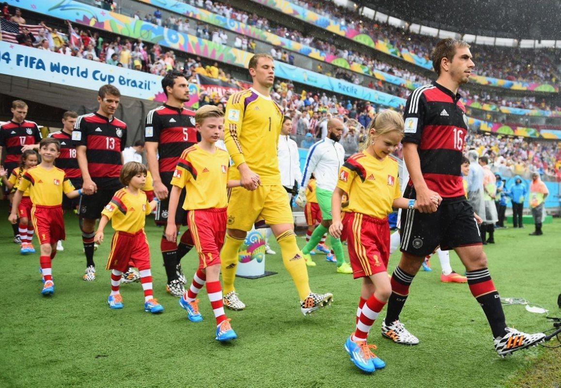 Арена Пернамбукану принимала матч сборных США и Германии