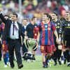 Лапорта и Месси в Барселоне  // AP