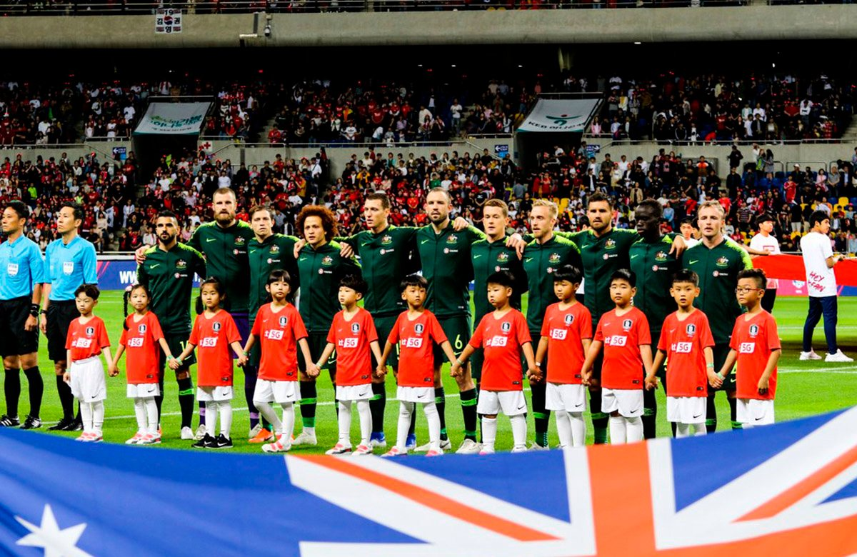 Сборная Австралии впервые сыграет на Копа Америка