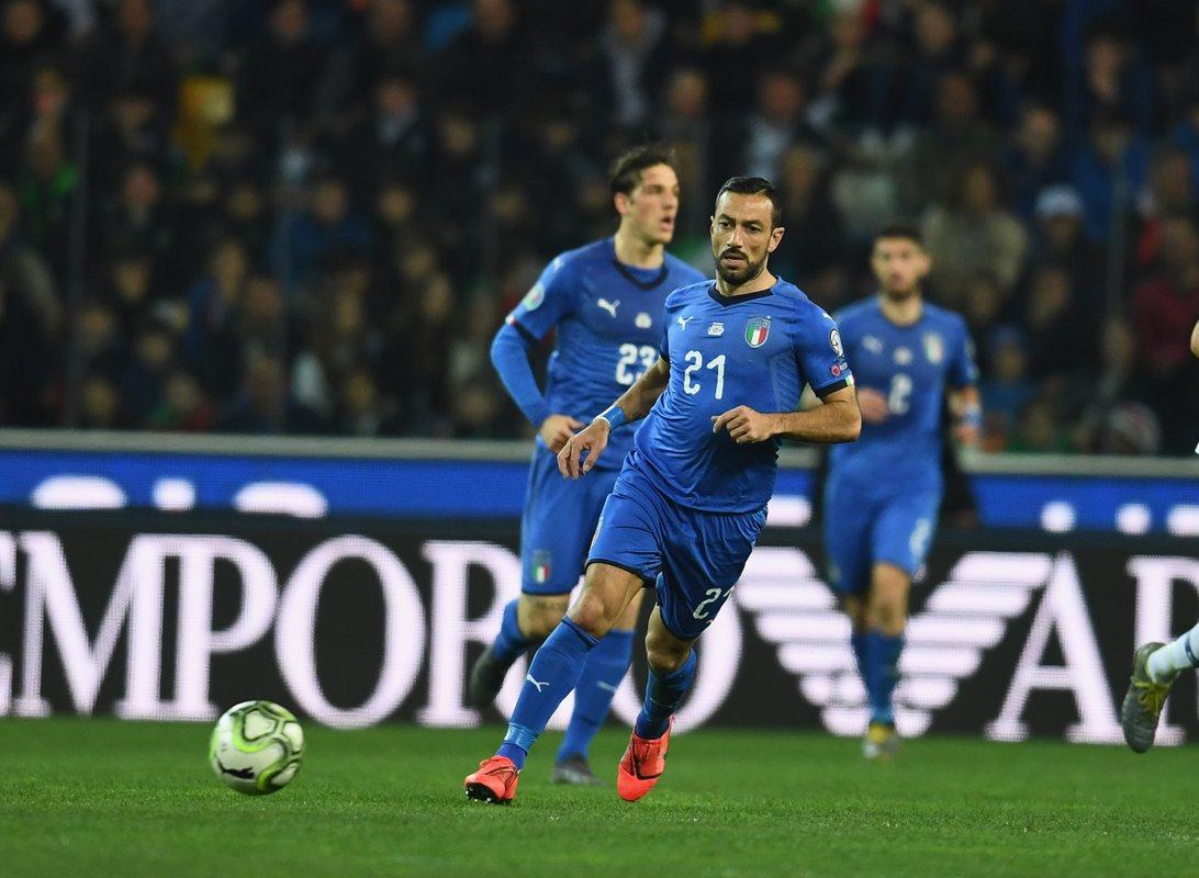 Фабио Квальярелла, сборная Италии