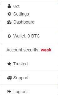 Конфигурация безопасности / / Источник: localbitcoins.com