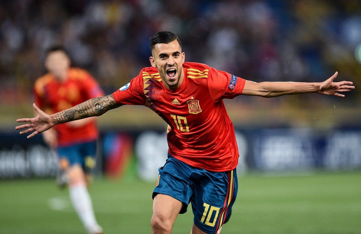 Себальос - лидер сборной Испании
