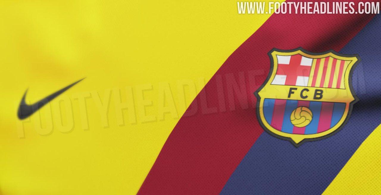 Выездная форма Барселоны на сезон-2019/20
