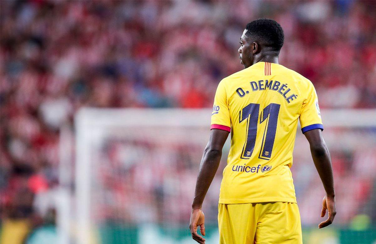 Дембеле не уйдет из Барселоны
