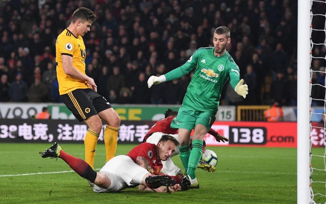Вулверхэмптон 2:1 Манчестер Юнайтед