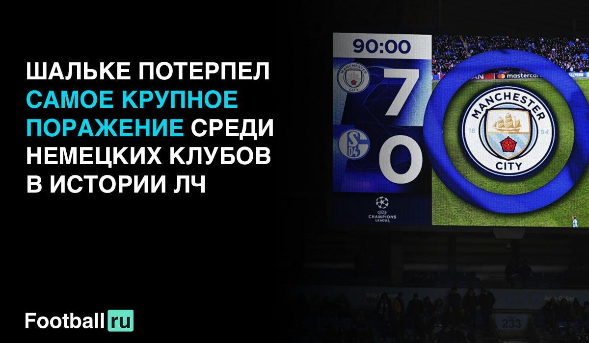 Манчестер Сити - Шальке 7:0