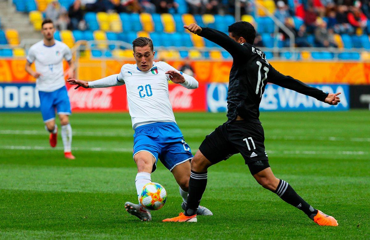 Сборная Италии мощно начала турнир