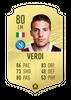 Верди в FIFA 20  // fifarosters.com
