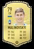 Малиновский в FIFA 20  // fifarosters.com