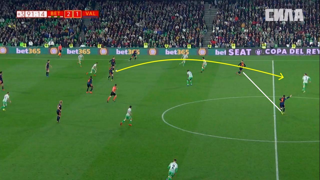 Решающий гол в матче с Бетисом забит после контратаки