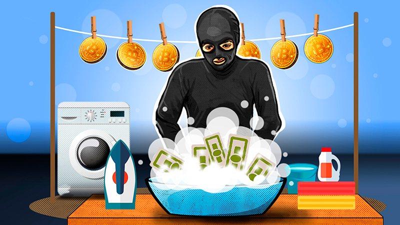 Отмывание денег через криптовалюты