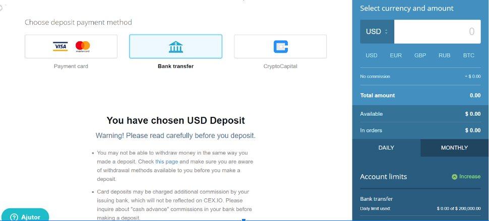 bitcoin ajutor