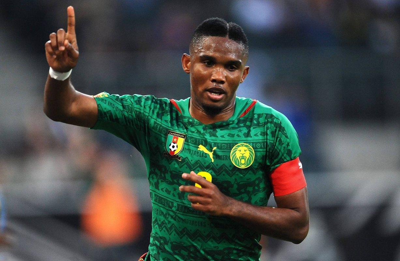 Это`О в составе сборной Камеруна