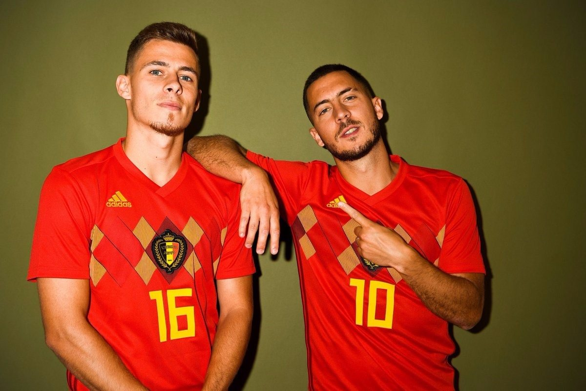 Торган Азар и Эден Азар в сборной Бельгии