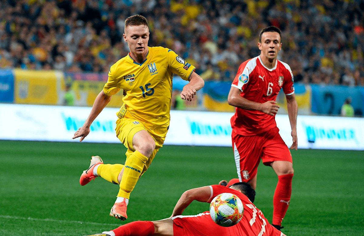 Цыганков отметился дублем в матче с Сербией