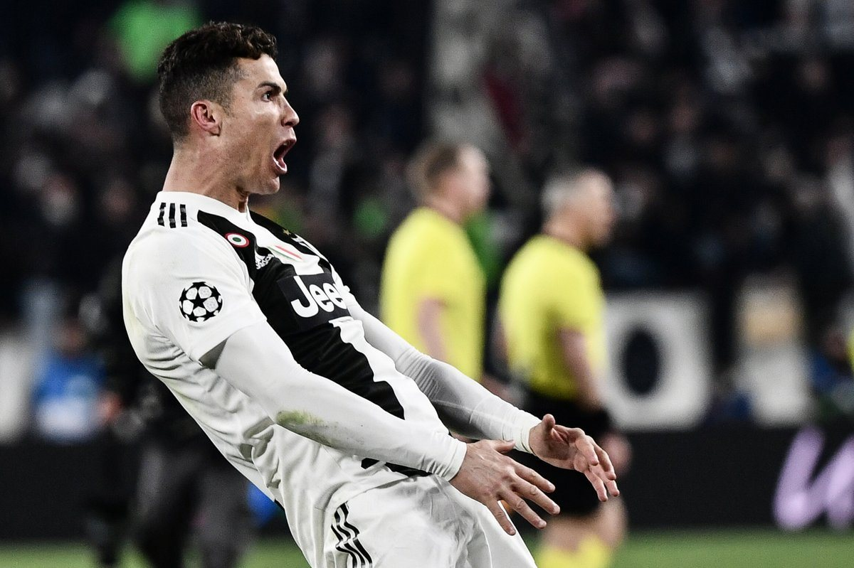 Роналду повторил знаменитый жест Диего Симеоне
