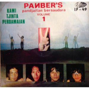 Jual vinyl Panber's - Pandjaitan Bersaudara