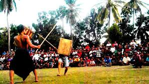 Presean atau Stick Fighting