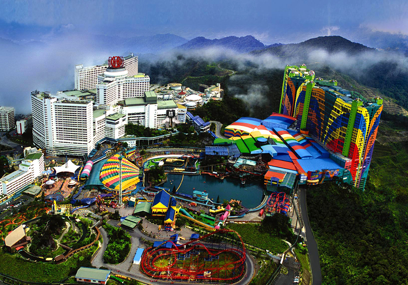 Image result for tempat wisata genting highland malaysia