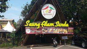 Tempat Makan Lesehan di Jakarta Yang Murah - rumah makan saung alam sunda