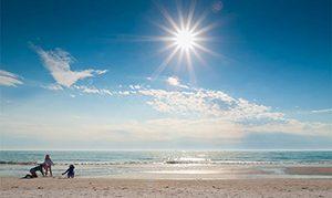 Pantai Siesta, Florida